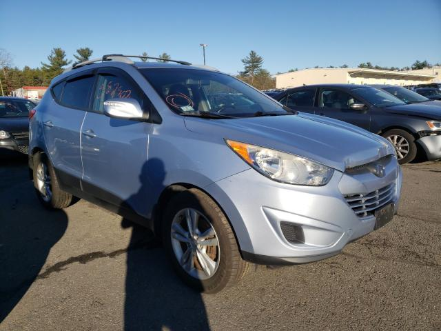 Salvage cars for sale from Copart Exeter, RI: 2012 Hyundai Tucson GLS