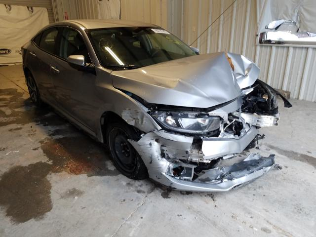 Salvage cars for sale from Copart Hurricane, WV: 2019 Honda Civic LX