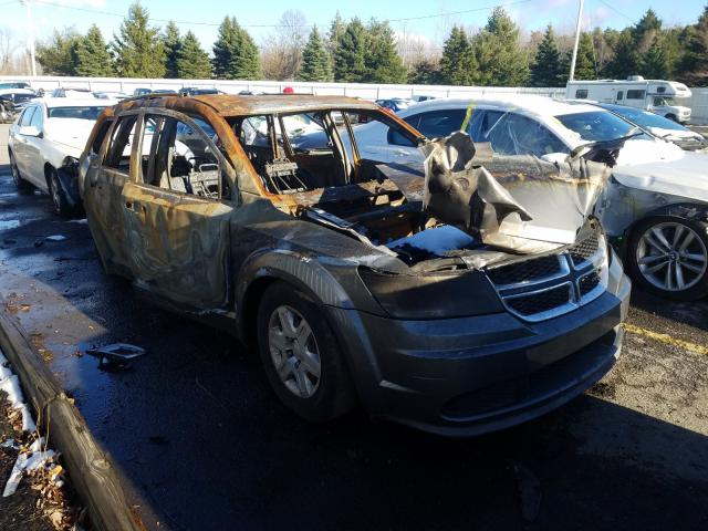 Salvage cars for sale from Copart Angola, NY: 2012 Dodge Journey SE