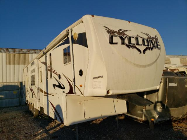 Heartland Cyclone salvage cars for sale: 2009 Heartland Cyclone