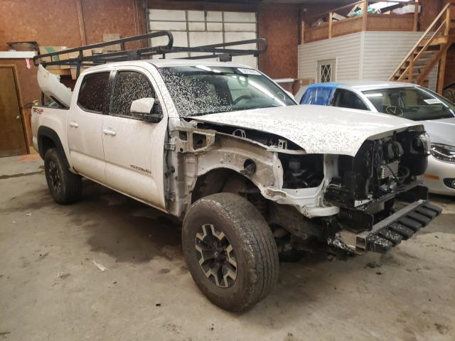 Salvage cars for sale from Copart Ebensburg, PA: 2019 Toyota Tacoma DOU