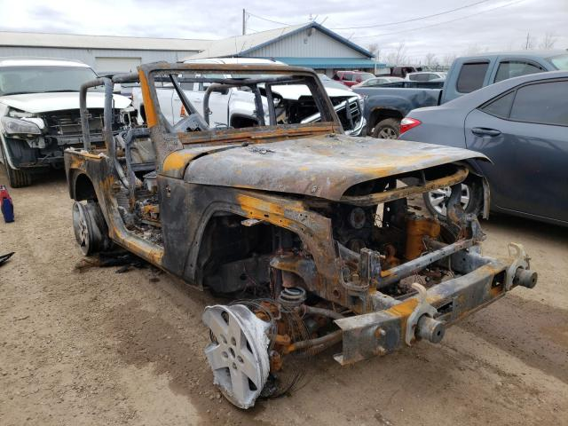 Salvage cars for sale from Copart Pekin, IL: 2010 Jeep Wrangler S