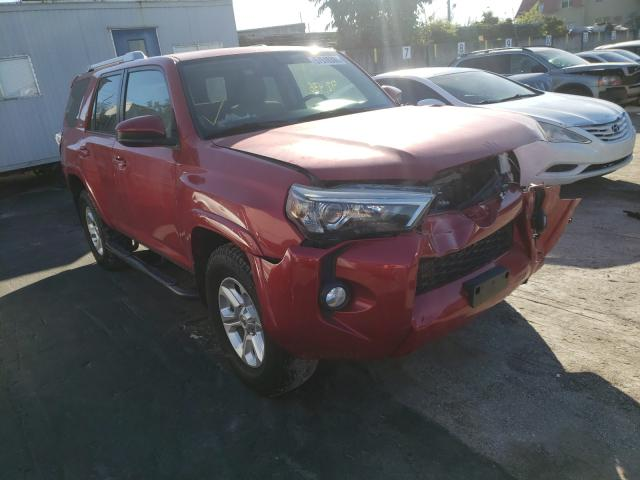 Salvage cars for sale from Copart Opa Locka, FL: 2015 Toyota 4runner SR