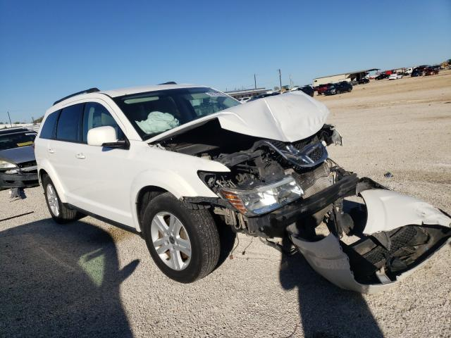 Salvage cars for sale from Copart San Antonio, TX: 2012 Dodge Journey SX
