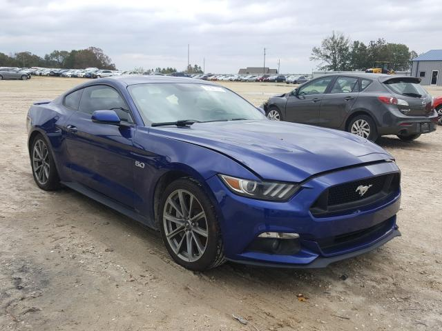 Salvage cars for sale from Copart Newton, AL: 2015 Ford Mustang GT