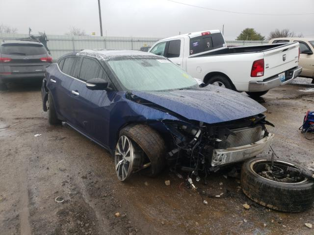 Nissan salvage cars for sale: 2016 Nissan Maxima 3.5