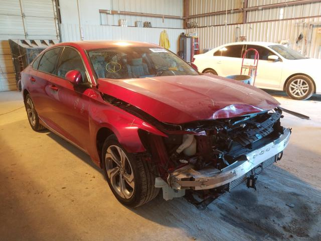 Salvage cars for sale from Copart Abilene, TX: 2018 Honda Accord EXL
