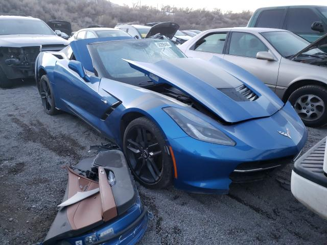 Salvage cars for sale from Copart Reno, NV: 2015 Chevrolet Corvette S