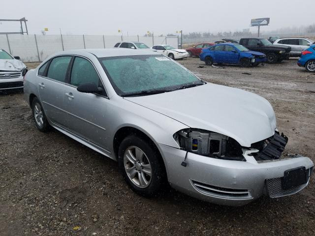 Salvage cars for sale from Copart Cicero, IN: 2012 Chevrolet Impala LS