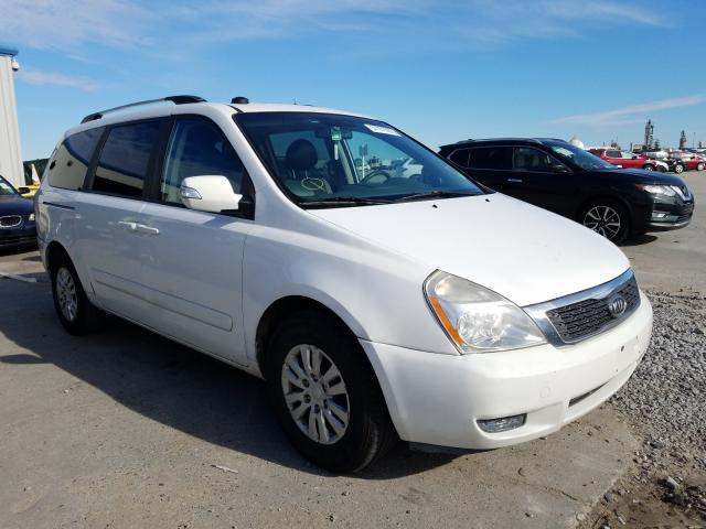 Salvage cars for sale from Copart New Orleans, LA: 2012 KIA Sedona LX