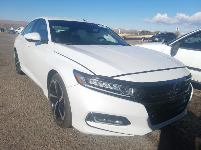 Salvage cars for sale from Copart Albuquerque, NM: 2020 Honda Accord Sport