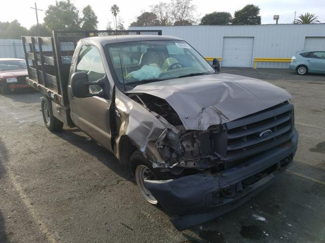 Salvage cars for sale from Copart Vallejo, CA: 2003 Ford F350 SRW S