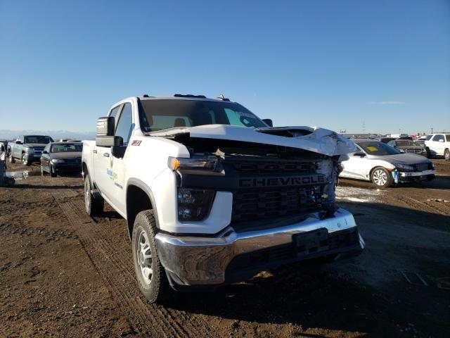 Salvage cars for sale at Brighton, CO auction: 2020 Chevrolet Silverado
