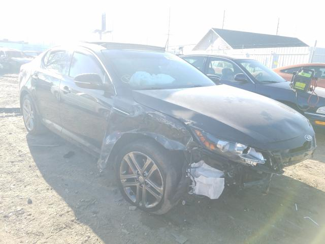 Salvage cars for sale from Copart Hammond, IN: 2013 KIA Optima SX