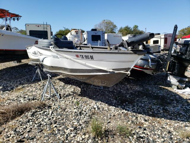 Salvage cars for sale from Copart Corpus Christi, TX: 2010 Lund Boat