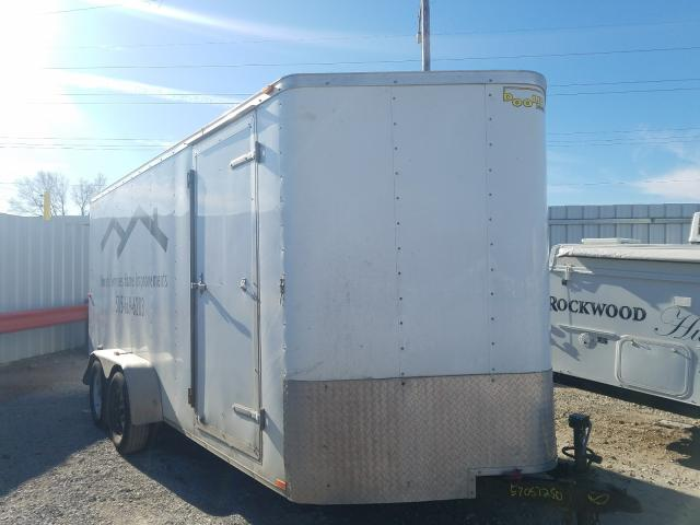 Salvage cars for sale from Copart Des Moines, IA: 2015 Doolittle Trailer