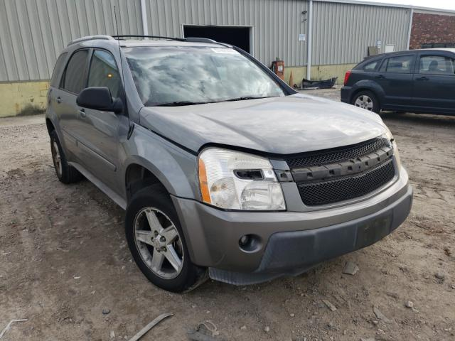 Salvage cars for sale from Copart Hampton, VA: 2005 Chevrolet Equinox LT