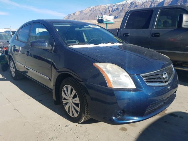 Salvage cars for sale from Copart Farr West, UT: 2012 Nissan Sentra 2.0