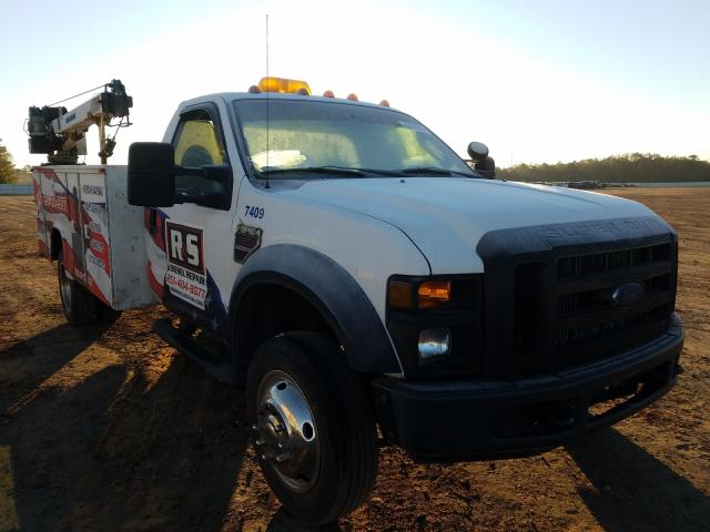 Salvage trucks for sale at Theodore, AL auction: 2008 Ford F450 Super