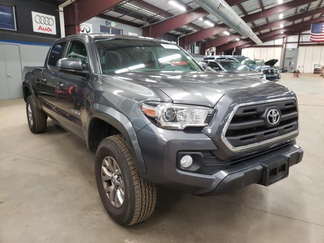Salvage cars for sale from Copart East Granby, CT: 2016 Toyota Tacoma DOU