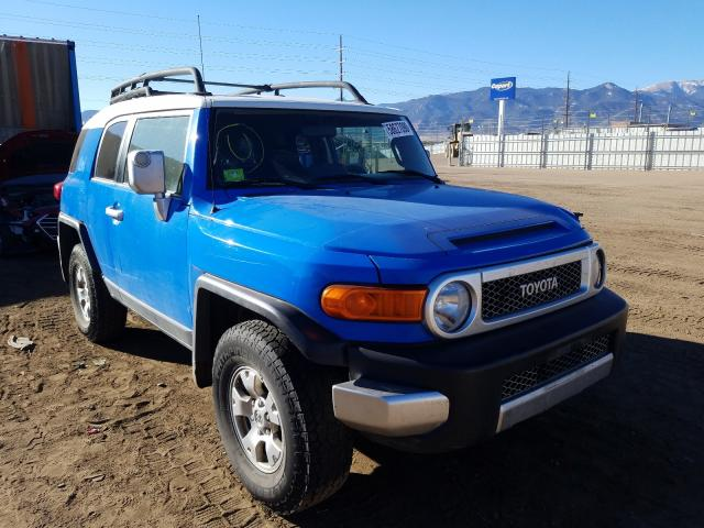 Salvage cars for sale from Copart Colorado Springs, CO: 2007 Toyota FJ Cruiser