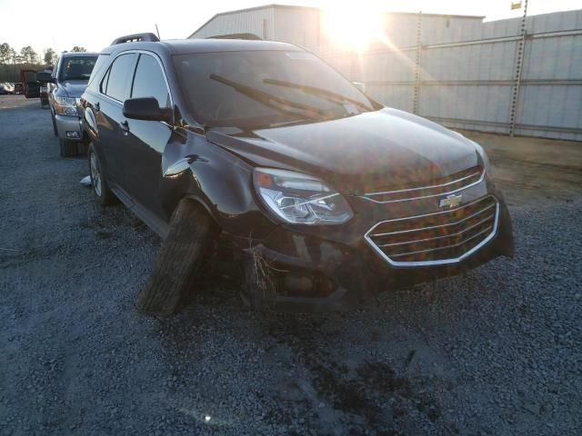 Salvage cars for sale at Lumberton, NC auction: 2016 Chevrolet Equinox LT