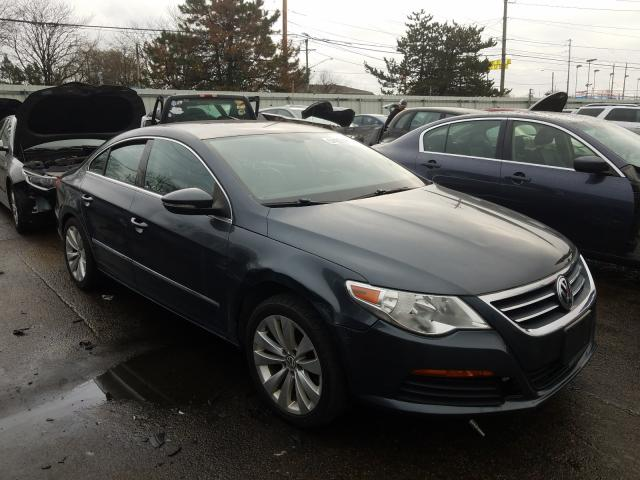 Salvage cars for sale from Copart Moraine, OH: 2012 Volkswagen CC Sport