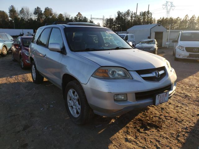 Salvage cars for sale from Copart Charles City, VA: 2004 Acura MDX