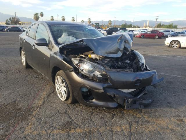 Salvage cars for sale from Copart Colton, CA: 2012 Mazda 3 I