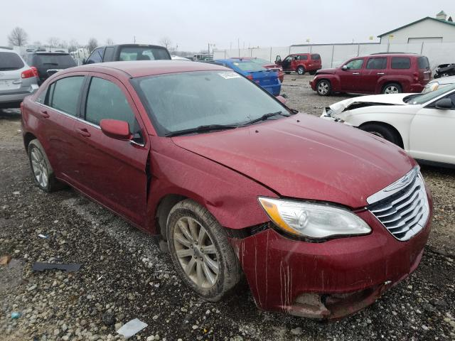 Salvage cars for sale from Copart Cicero, IN: 2012 Chrysler 200 Touring