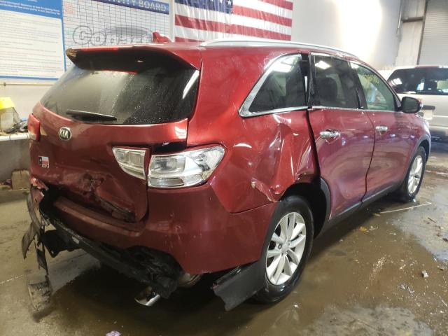 цена в сша 2017 Kia Sorento Lx 3.3L 5XYPG4A55HG306824