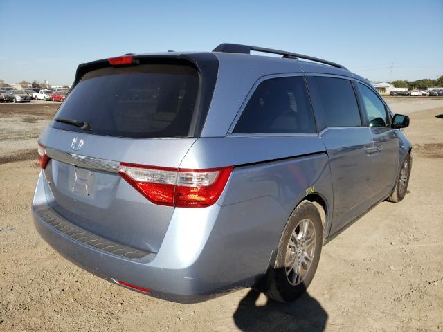 цена в сша 2011 Honda Odyssey Ex 3.5L 5FNRL5H64BB066513