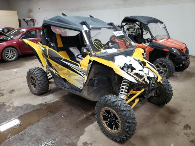 Salvage cars for sale from Copart Davison, MI: 2016 Yamaha YXZ1000 SE
