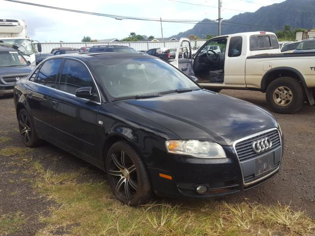 Salvage cars for sale from Copart Kapolei, HI: 2006 Audi A4 2 Turbo