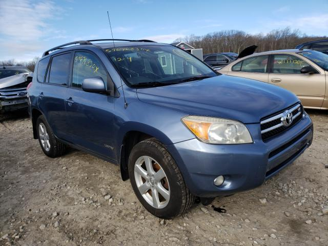 Salvage cars for sale from Copart West Warren, MA: 2008 Toyota Rav4 Limited
