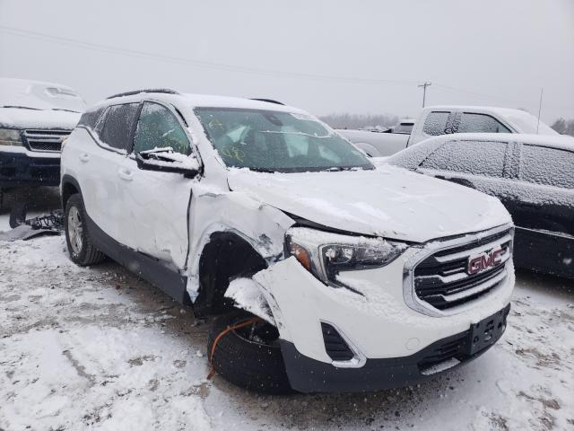 Salvage cars for sale from Copart Leroy, NY: 2020 GMC Terrain SL