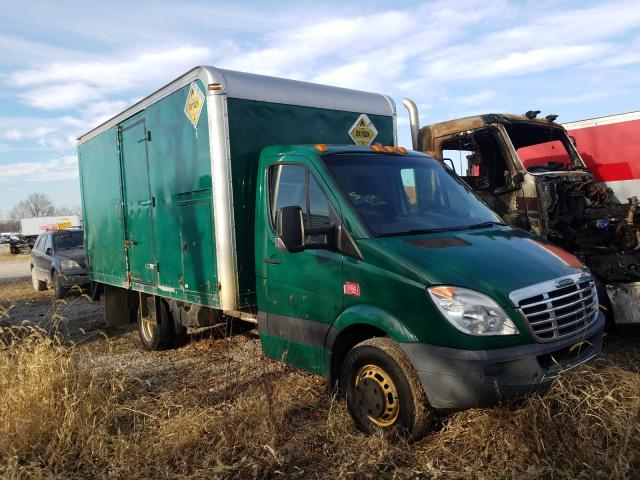 Salvage cars for sale from Copart Cicero, IN: 2012 Freightliner Sprinter 3
