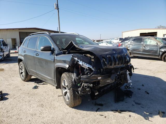 Salvage cars for sale from Copart Temple, TX: 2017 Jeep Cherokee T