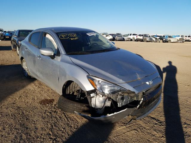 Salvage cars for sale from Copart Amarillo, TX: 2017 Toyota Yaris IA