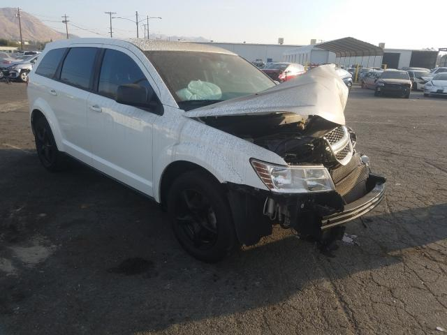 Salvage cars for sale from Copart Colton, CA: 2013 Dodge Journey SE
