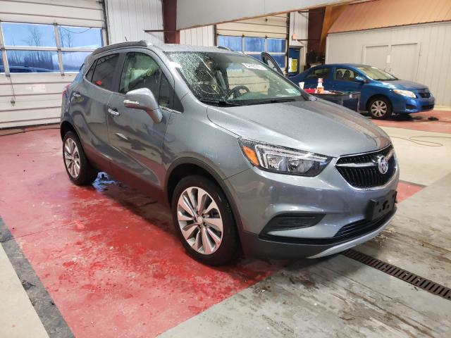 Salvage cars for sale from Copart Angola, NY: 2019 Buick Encore PRE