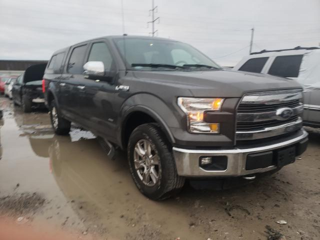 Salvage cars for sale from Copart Columbus, OH: 2016 Ford F150 Super