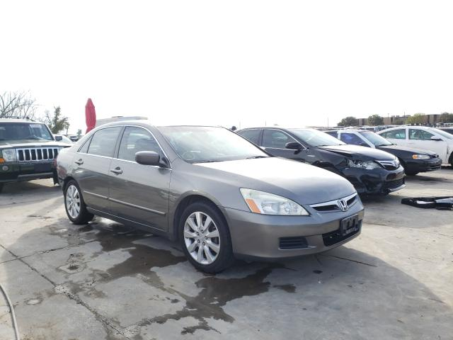 Salvage cars for sale from Copart Grand Prairie, TX: 2006 Honda Accord EX