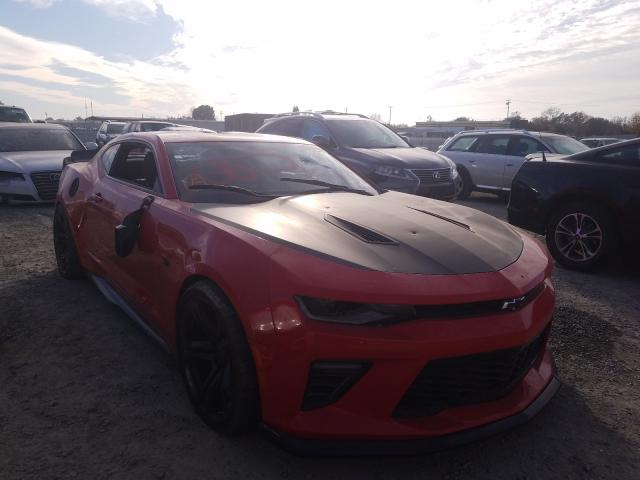 Chevrolet Camaro SS salvage cars for sale: 2018 Chevrolet Camaro SS