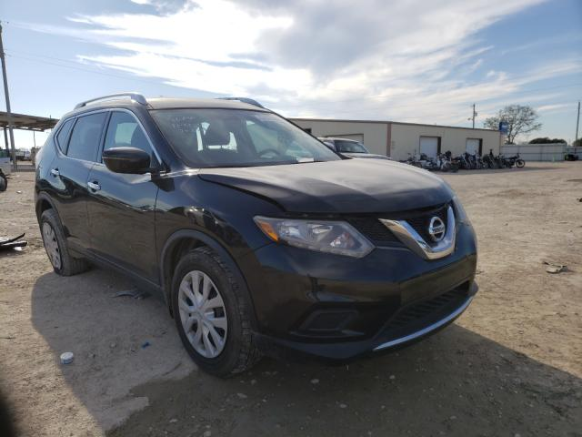 Salvage cars for sale from Copart Temple, TX: 2016 Nissan Rogue S