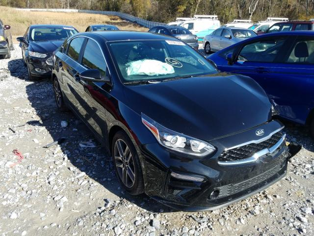 Salvage cars for sale from Copart Cartersville, GA: 2020 KIA Forte EX