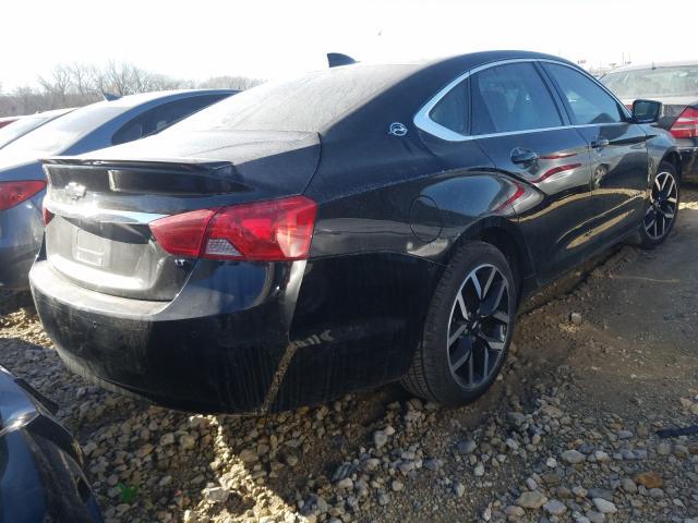 цена в сша 2017 Chevrolet Impala Lt 3.6L 2G1105S32H9127125