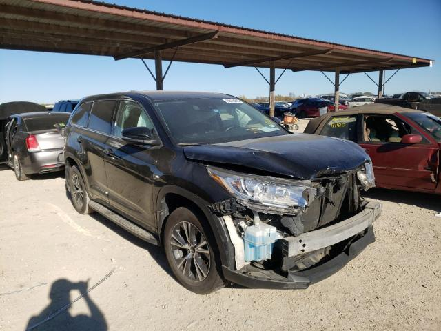 Salvage cars for sale from Copart Temple, TX: 2017 Toyota Highlander