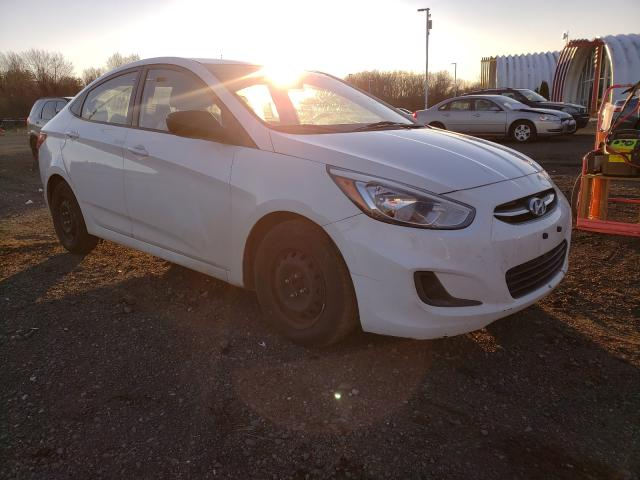 Salvage cars for sale from Copart East Granby, CT: 2016 Hyundai Accent SE