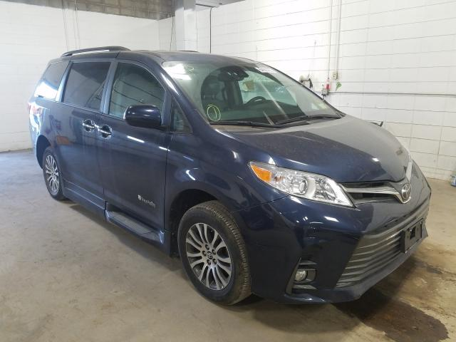 Toyota salvage cars for sale: 2018 Toyota Sienna XLE
